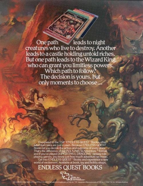 Endless Quest 1984