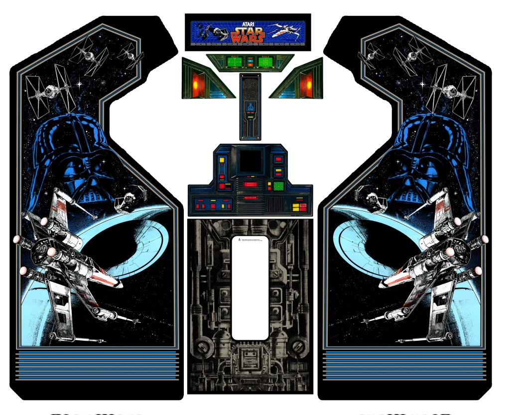 Arcade Cabinets Star Wars Atari 1983 2 Warps To Neptune