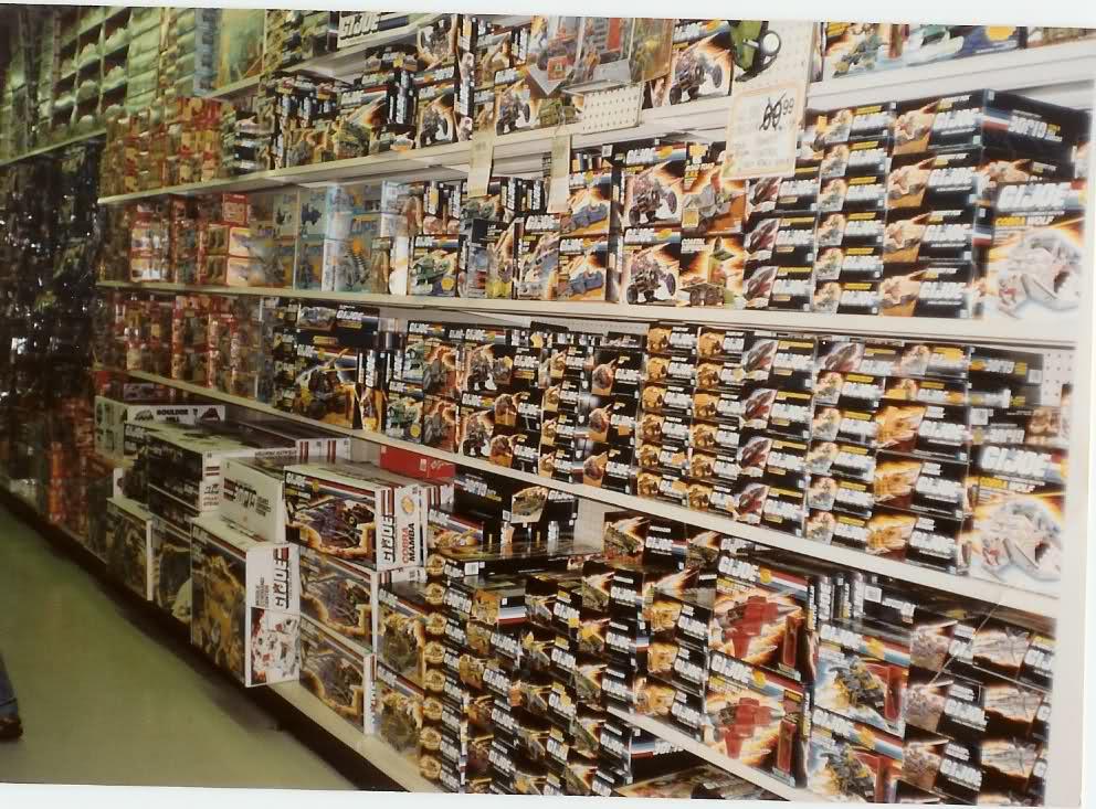 Boys Toy Store Aisle : Toy aisle zen g i joe masters of the