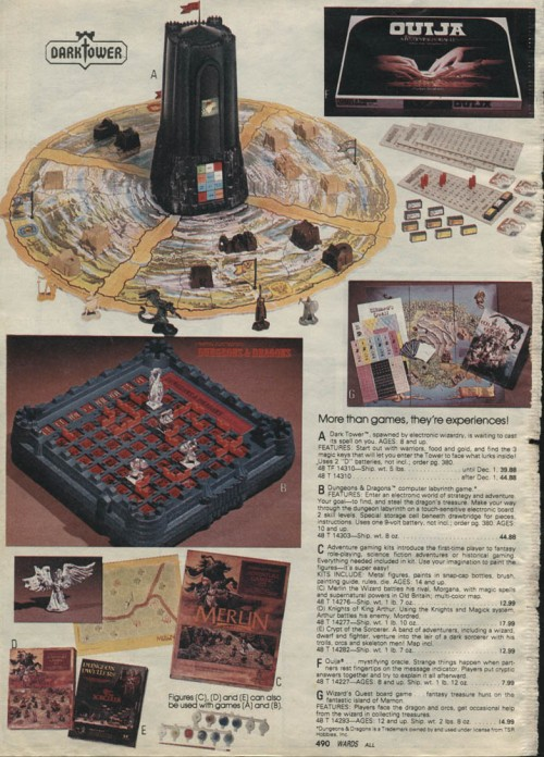 1981.xx.xx Montgomery Ward Christmas Catalog P490