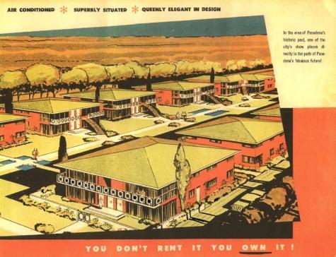 suburban homes 1954