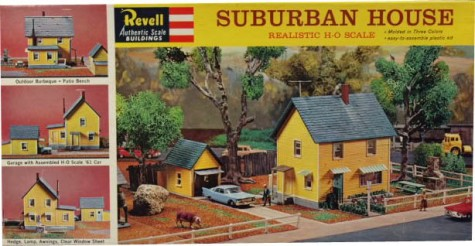 suburban house model