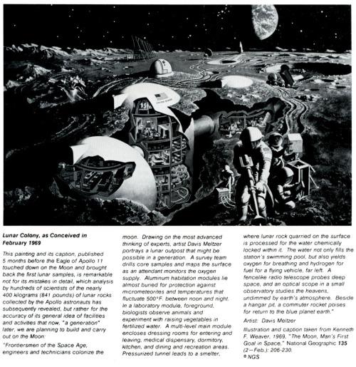 Lunar Colony 1969