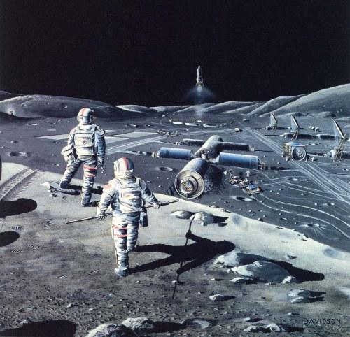 Lunar Colony 1985