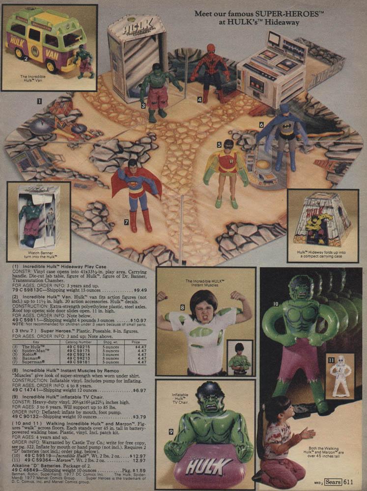 1979 Sears Christmas Catalog: Marx Play Sets and The