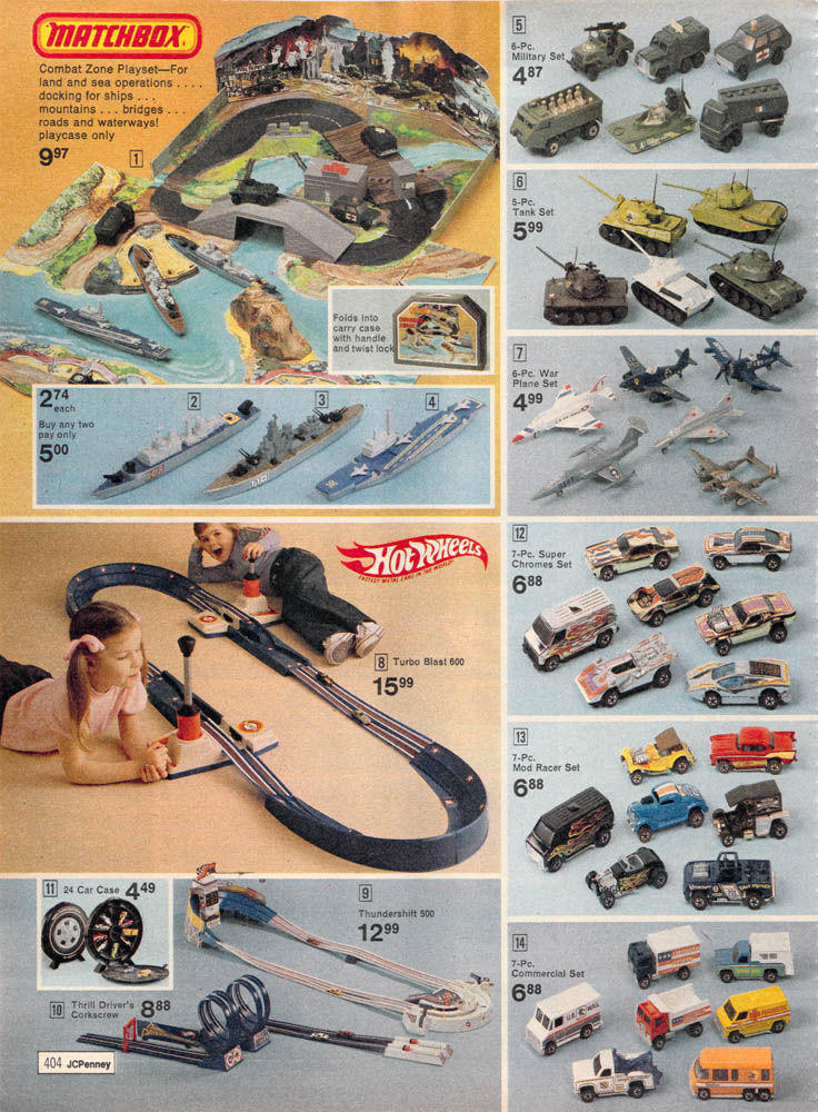 1977 J C Penney Christmas Catalog Matchbox Combat Zone