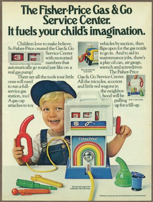 Fisher Price Gas & Go Ad