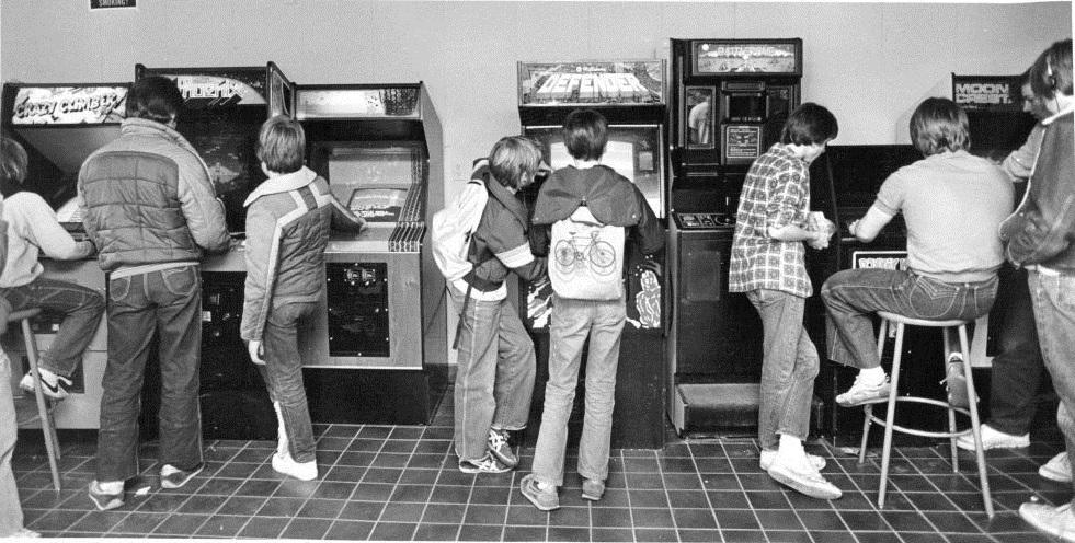 Resultado de imagen para arcade 1970