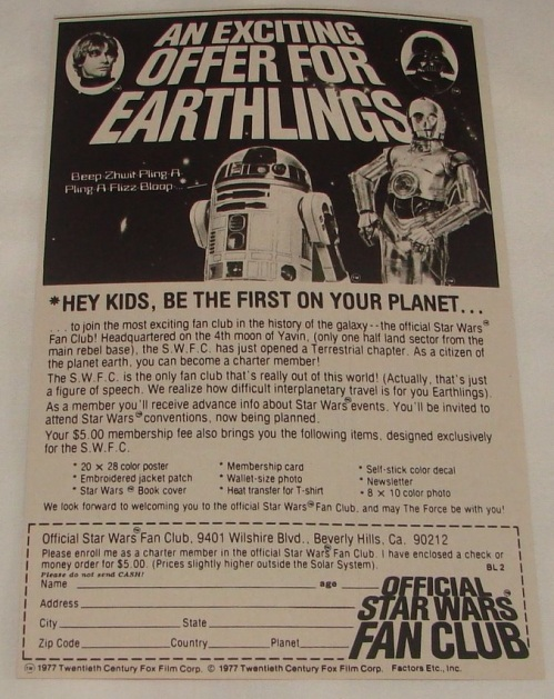 Star Wars FC 1977