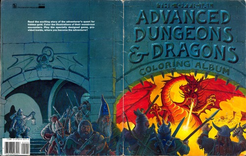 AD&D Coloring Album