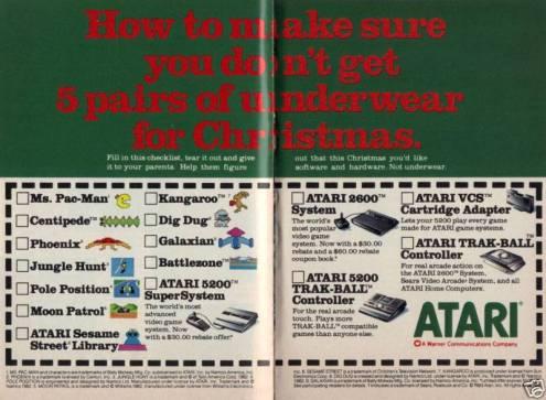 Atari Ad 1983