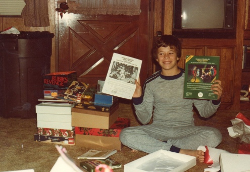 Christmas Morning D&D 1982