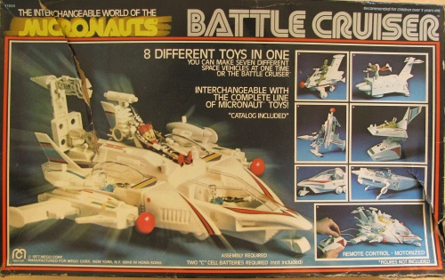 Micronauts Battle Cruiser