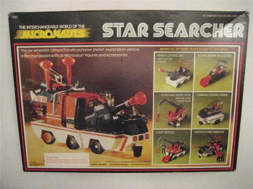 Micronauts Star Searcher-2