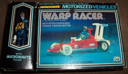 Micronauts Warp Racer