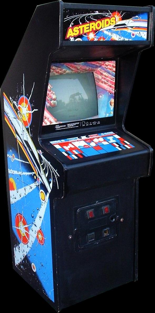 asteroids arcade cabinet -#main
