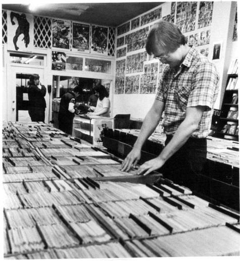 Comic Book Store 1981
