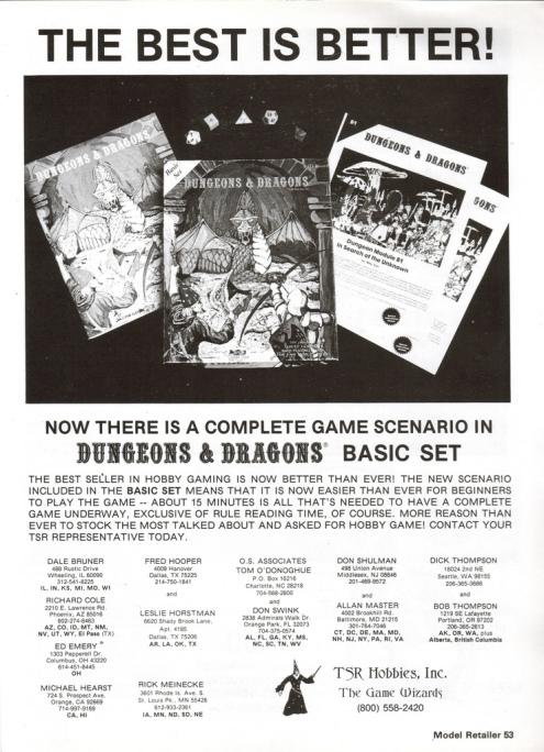 D&D Ad 1979