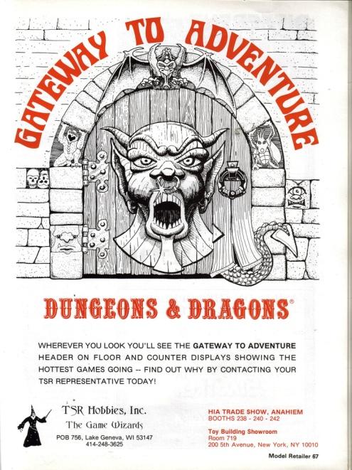 D&D Ad 1980