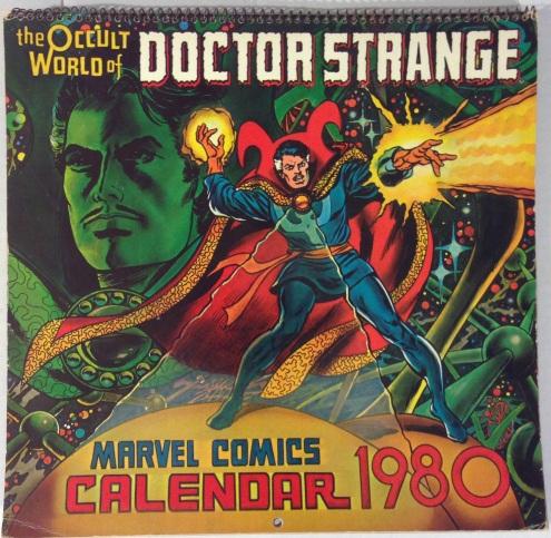 Doc Strange Calendar 1980
