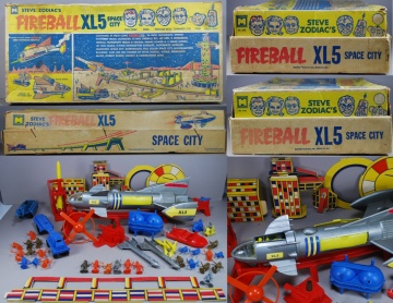Fireball XL5 Set-1