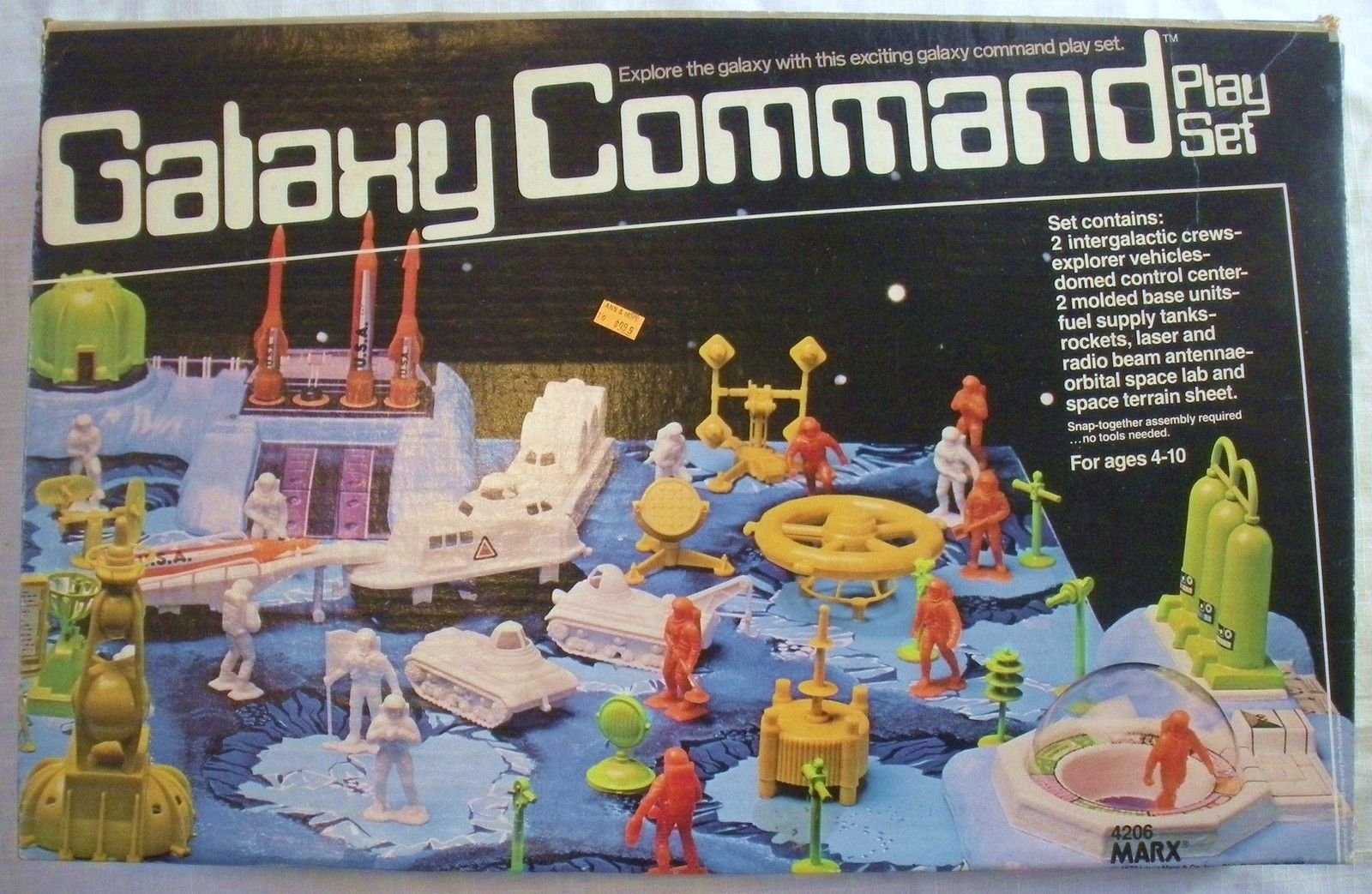 Marx Toys Playsets 2 Warps To Neptune Page 2