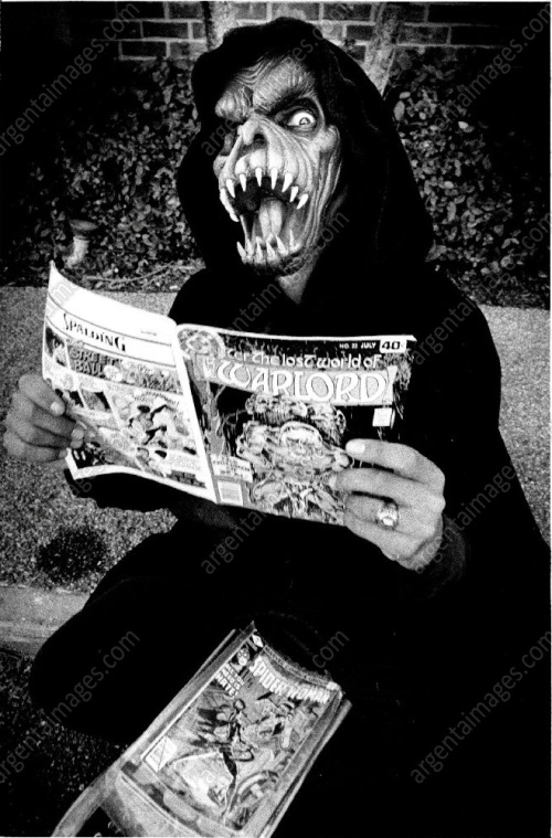 Grim Reaper Reading Comic
