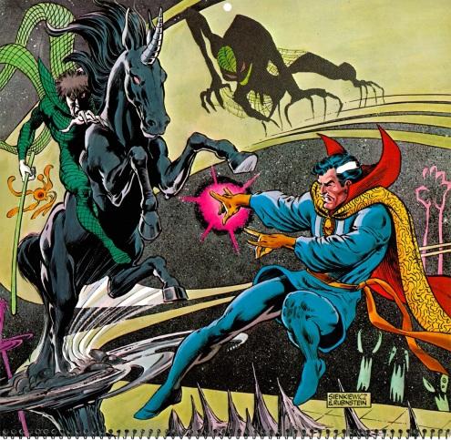 Marvel Calendar 1980 Feb