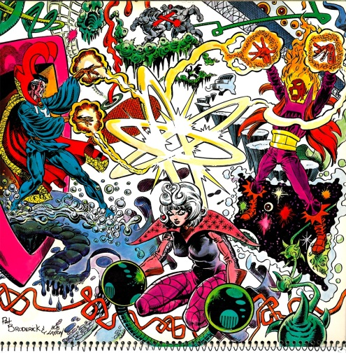 Marvel Calendar 1980 March