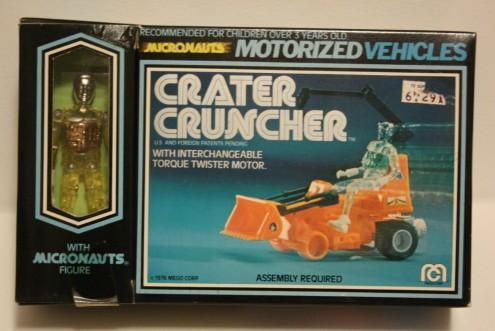 Micronauts Crater Cruncher