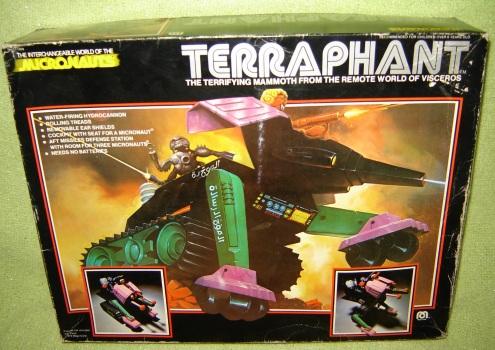 Micronauts Terraphant