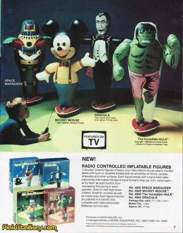 Radio Controlled Inflatable Hulk Major Miner