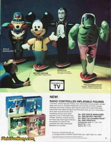 Radio Controlled Inflatable Hulk Major Miner