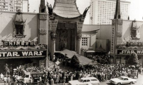 star wars marquee