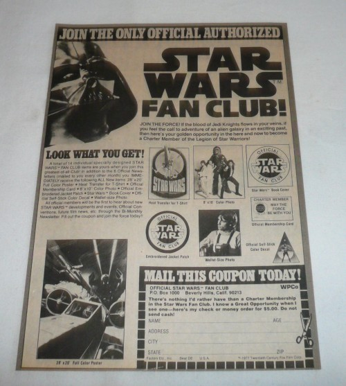 SW Fan Club Ad-3