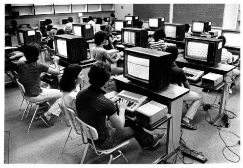 computer lab 1985