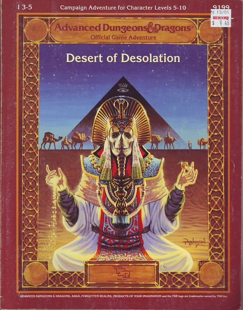 desert of desolation 1987