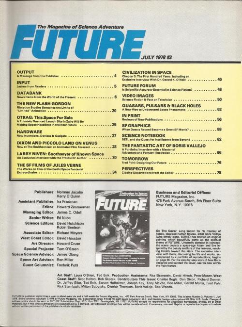 Future Life #3 TOC