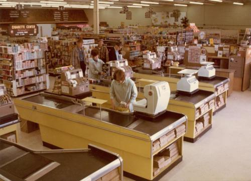 grocery store 70s