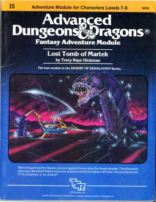 Lost Tomb of Martek FC 1983