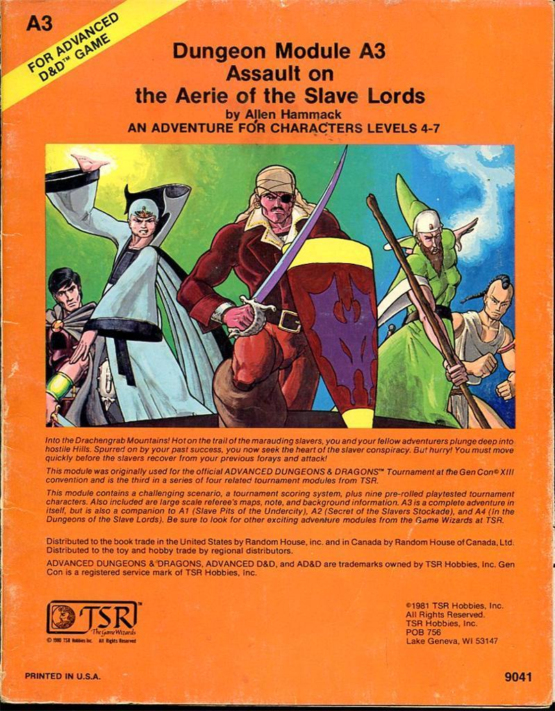 dungeons of the slave lords pdf free