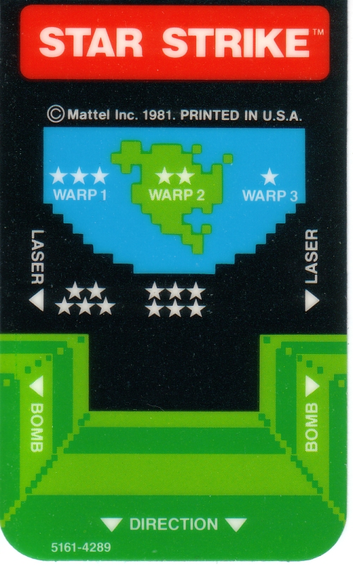 intellivision star strike