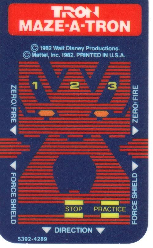intellivision tron maze