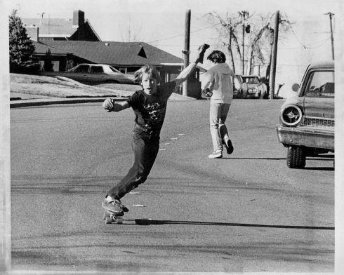 skateboarding 1977