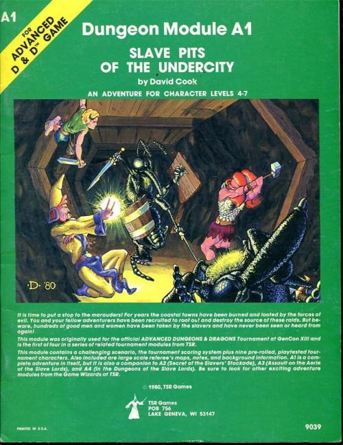 Slave Pits of the Undercity FC 1980