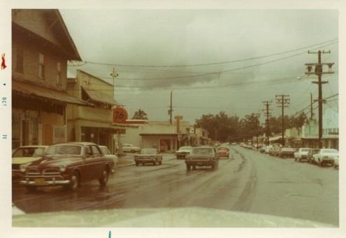street scene 1971