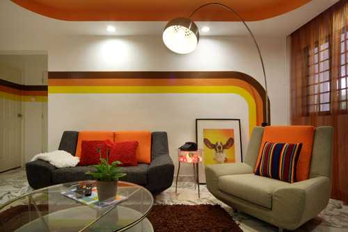 wall stripes 70s