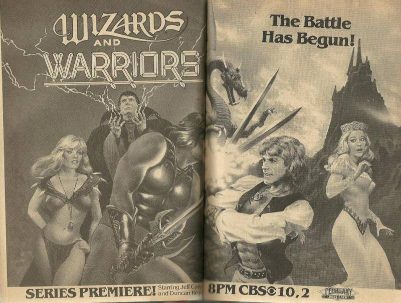 Fantasy movies tv 2 warps to neptune for Wizards warriors