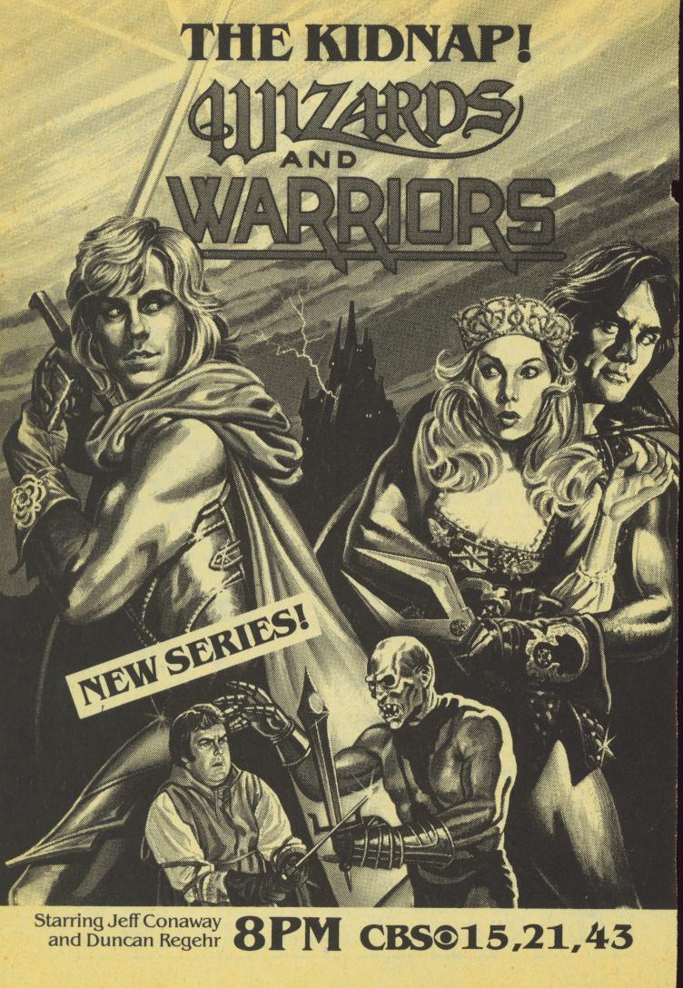 Wizards and warriors 1983 was a real show on tv and i for Wizards warriors