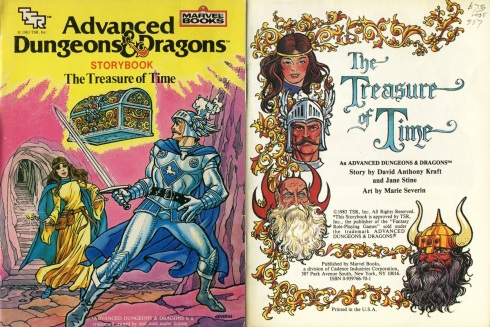 AD&D Treasure of Time